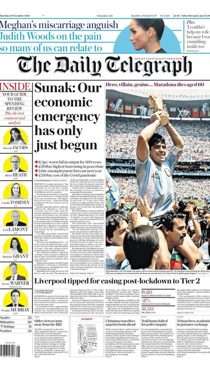 The Daily Telegraph, Inglaterra