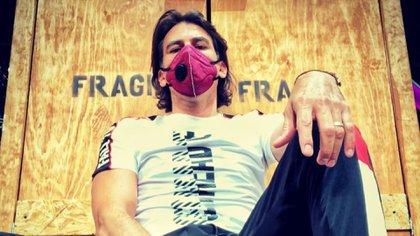 El actor dijo no sentir síntomas pero mantendrá el reposo necesario.  (Foto: Instagram @mbarcelata)
