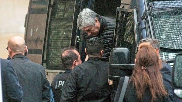 Lázaro Báez continúa detenido en la cárcel de Ezeiza (Télam)