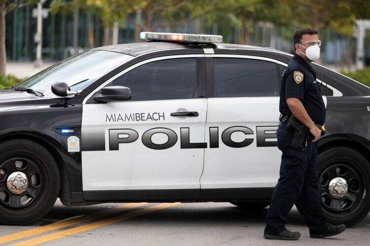Policía de Miami Beach (REUTERS/Marco Bello)