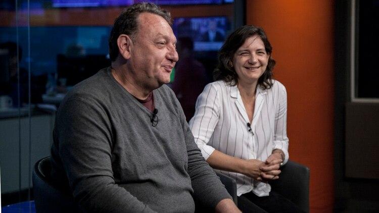 Mariano Naradowski y Cristina Carriego, cofundadores de Pansophia Project (Santiago Saferstein)