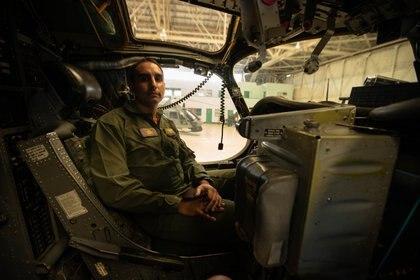 Teniente de Navío Gonzalo Montoya integrante de la Escuadrilla Naval Antisubmarina
