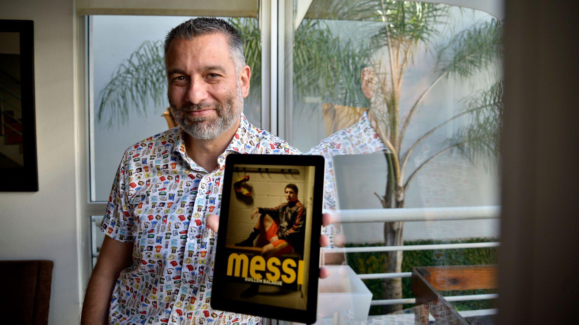 Balagué escribió libros sobre Messi y Guardiola (Foto: Gustavo Gavotti)