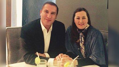 Estuvieron casados desde 2004. No tuvieron hijos (Foto: Facebook Rafael Moreno Valle)
