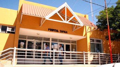 El Hospital de Zapala (Neuquén), donde se produjo un nuevo deceso