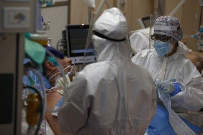 24/11/2020 Médicos en un hospital de Roma POLITICA EUROPA ITALIA INTERNACIONAL VINCENZO LIVIERI / ZUMA PRESS / CONTACTOPHOTO