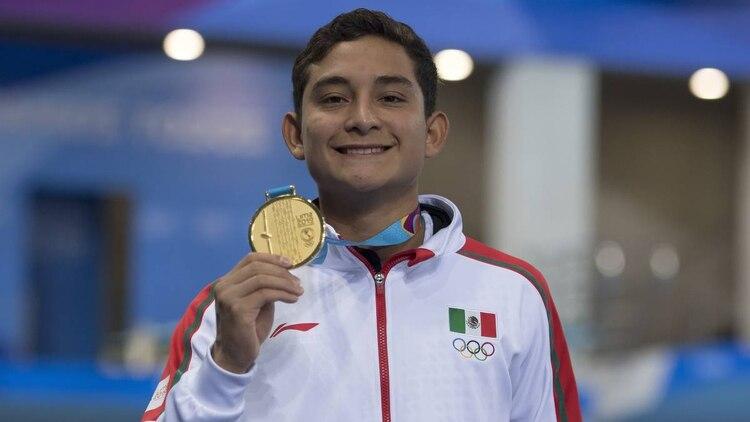 Berlín, de 18 años, obtuvo una plaza Olímpica para México, pero no necesariamente la ocupará, ya que depende de la Federación local (Foto: Archivo)