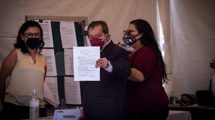Hernández y Muñoz Ledo son vistos por una parte de la militancia morenista como la fórmula ideal para liderar el partido (Foto: Cuartoscuro)