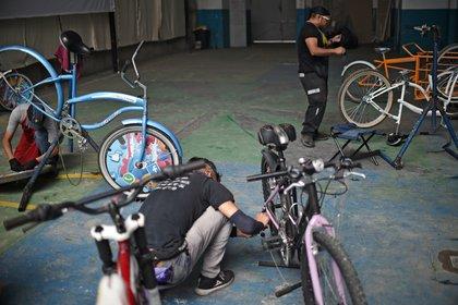 El gobierno de la Ciudad de México retomó la promoción del uso de bicicleta como alternativa de transporte (Foto: Rodrigo Arangua/ AFP)