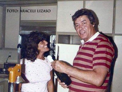 Araceli Lisazo y Guy Williams