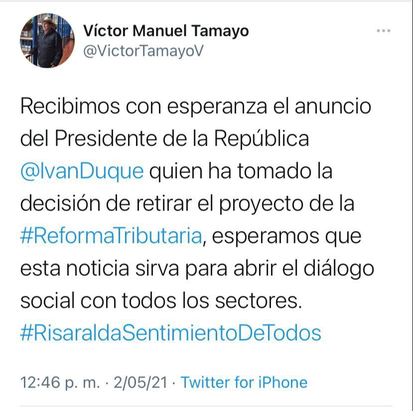 Víctor Manuel Tamayo