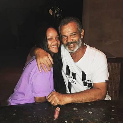 Rihanna y Ronald Fenty