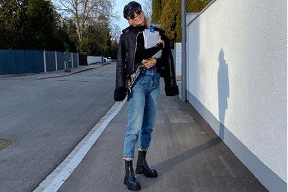 Evangelina Anderson, en Alemania (Fotos y video: Instagram)