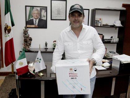 Antonio Villalobos Adán, alcalde de Cuernavaca, enfrenta una investigación por parte de la Fiscalía, también están involucrados otros cinco funcionarios municipales (Foto: Twitter @AntonioLobito01)