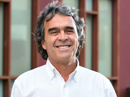 Sergio Fazardo, candidato de la coalición de los partidos Verde y Polo Democrático.