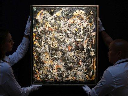 """""""Número"""" 5 (1948) fue vendida en 2006 al millonario mexicano David Martínez por USD 140 millones de dólares. Es su segunda obra más cara y ocupa el 10° puesto de la historia de la pintura"""