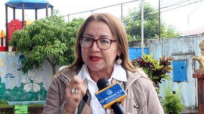 Lelis Bautista, directora de Política (Foto: Johnny Parra / La Nación - Táchira)