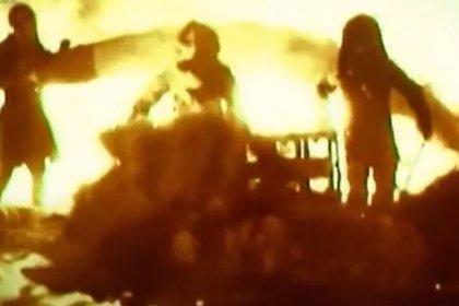 El horror en medio de las llamas de la tragedia de Nedelin (Youtube)