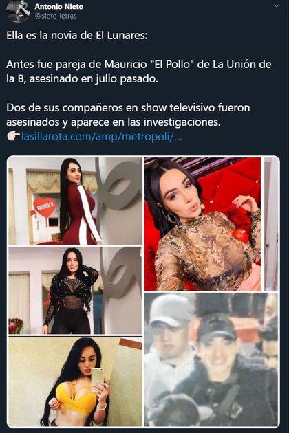 Gaby Castillo suele  compartir su ostentosa vida en Instagram, donde tiene más de 700 mil seguidores (Foto: Twitter @siete_letras)