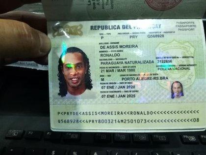 La imagen de la documentación, que fue viralizada por los medios paraguayos