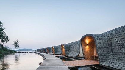 En Kanchanaburi, en el oeste de Tailandia, se encuentra el Z9 Resort