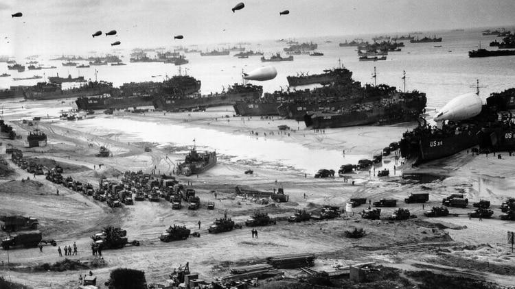 Pagina Histórica de Hoy (Mundial) Normandia