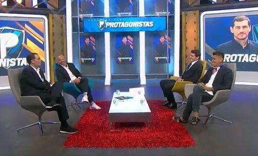 Iker Casillas en Los Protagonistas