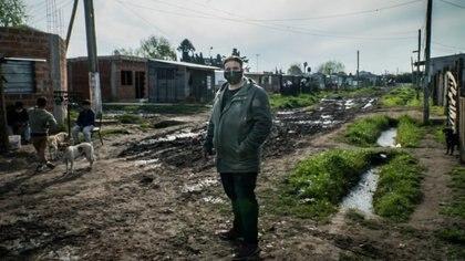 Barrio Pueblo Unido, asentamiento ubicado en Glew, donde vive el diputado Fagioli
