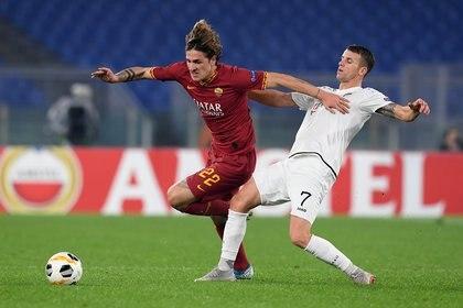 Nicolo Zaniolo, el otro anhelo de Juventus (REUTERS/Alberto Lingria)