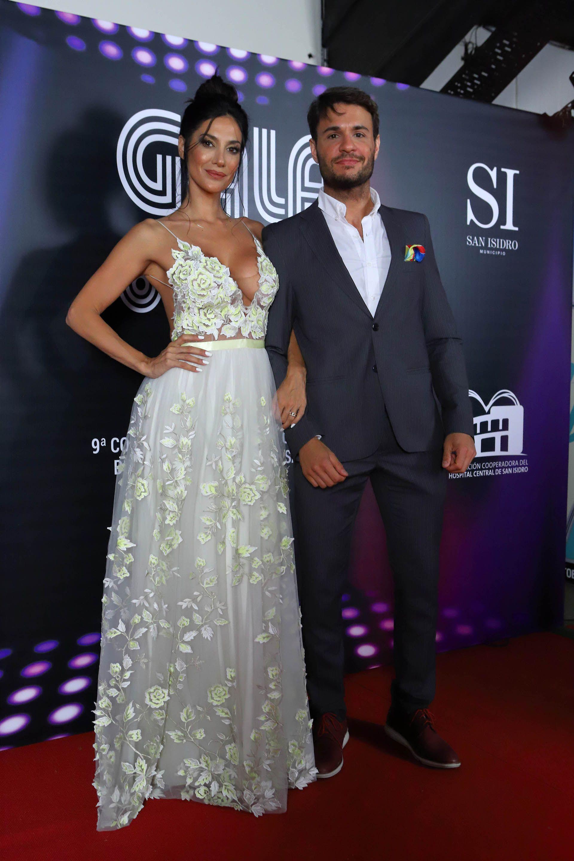 Silvina Escudero y Tomás Dente, los conductores de la gala