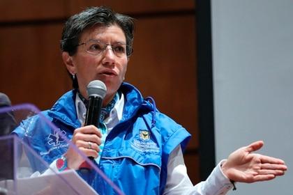 La alcaldesa de Bogotá, Claudia López. EFE/ Carlos Ortega/Archivo