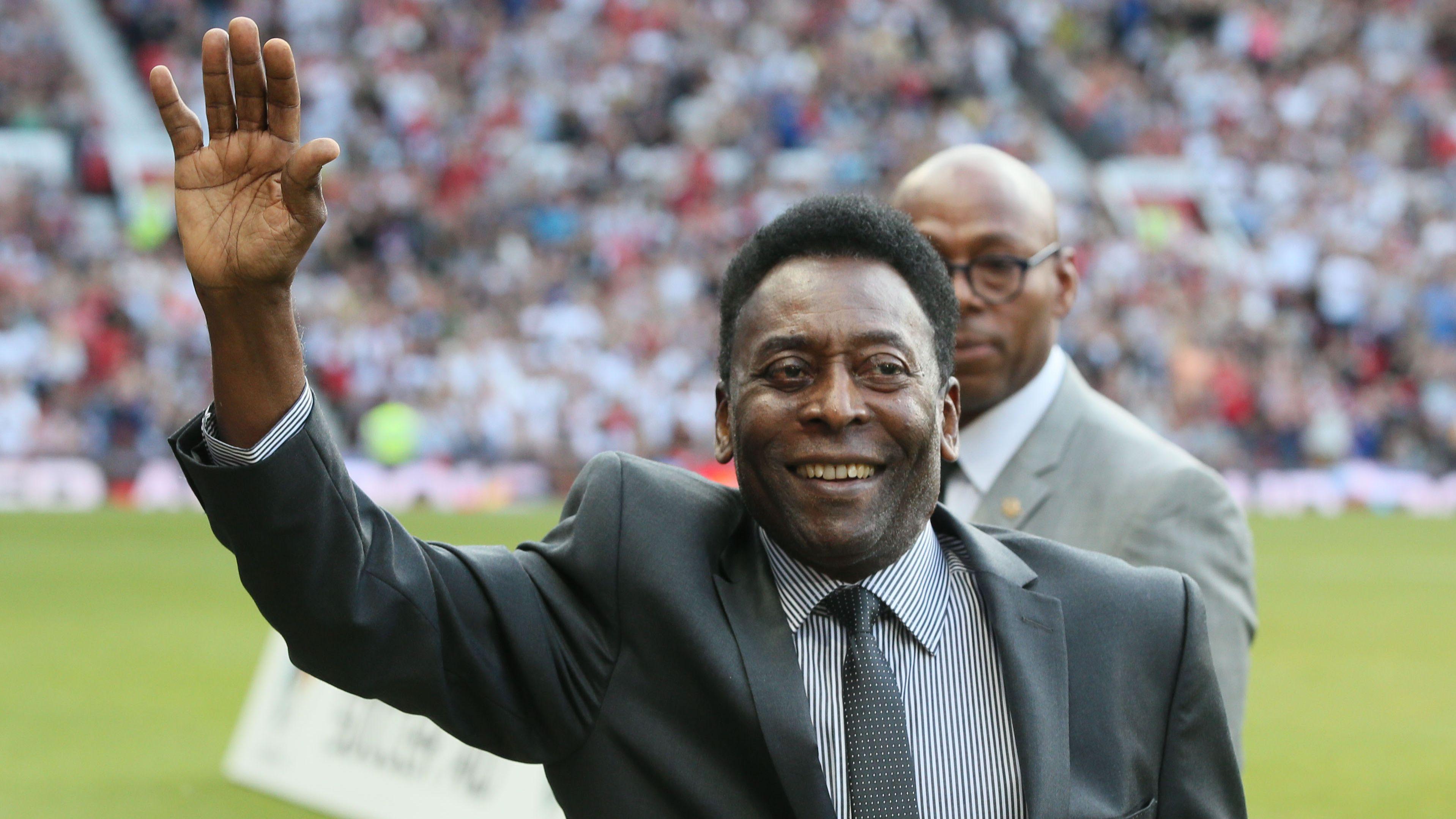 Pelé habló sobre su estado de ánimo después de que su hijo dijo que sufría de depresión (Shutterstock)
