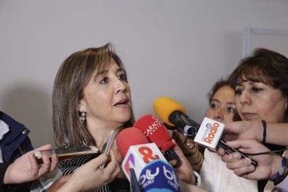 Sandra Forero, presidenta de Camacol. (Colprensa - Álvaro Tavera)