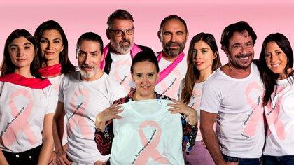 Campaña realizada por Infobae para el Día Mundial contra el Cáncer de Mama donde reconocidas personalidades del espectáculo, la política y la moda participaron con sus mensajes de concientización