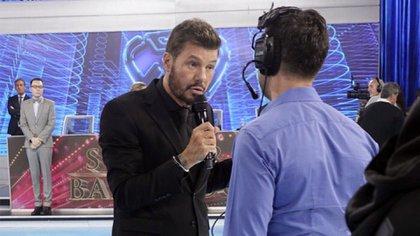 """Marcelo Tinelli, en una emisión de """"ShowMatch"""" (Foto: LaFlia / Negro Luengo)"""