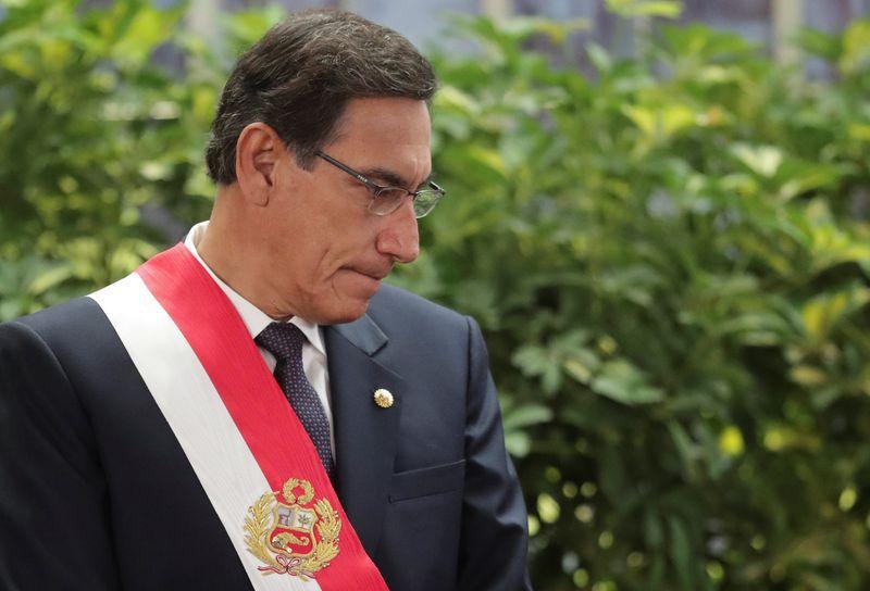 El presidente de Perú, Martín Vizcarra (REUTERS/Guadalupe Pardo)