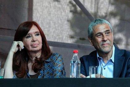 Ferraresi junto a Cristina Kirchner