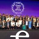 Todos los miembros Endeavor que se dieron cita en la gala por los 20 años