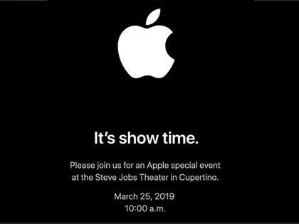 Esta es la invitación al evento donde darán una sorpresa (Foto: Apple)
