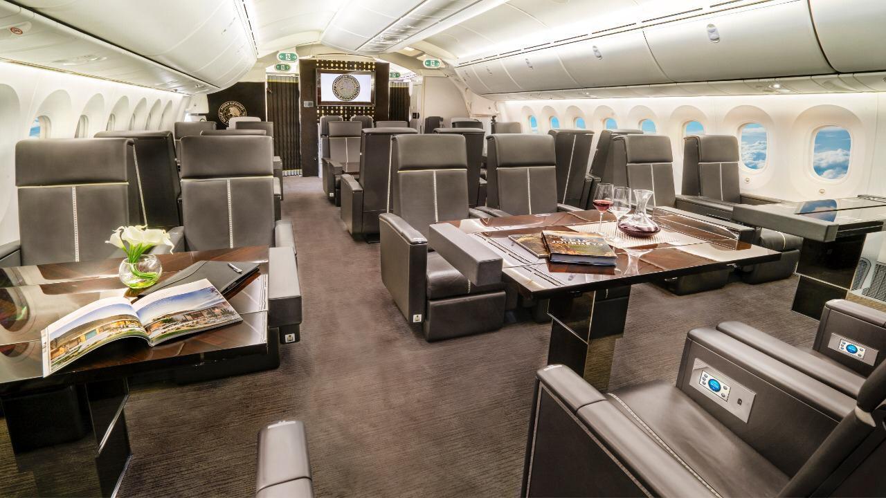 Tiene una capacidad para 80 pasajeros. (Foto: Cortesía Presidencia)