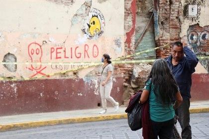 Sismo de magnitud 7.5 con epicentro en Huatulco, Oaxaca (Foto: REUTERS/Jorge Luis Plata)