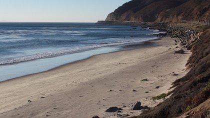 La playa de Deer Creek se encuentra cerca de Malibú. (Foto: Especial)