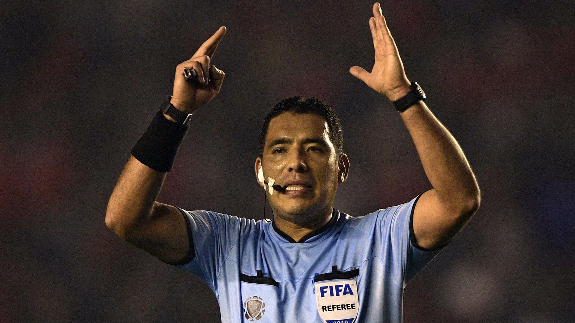 Haro, durante un partido de la Copa Libertadores 2019 (JUAN MABROMATA / AFP)