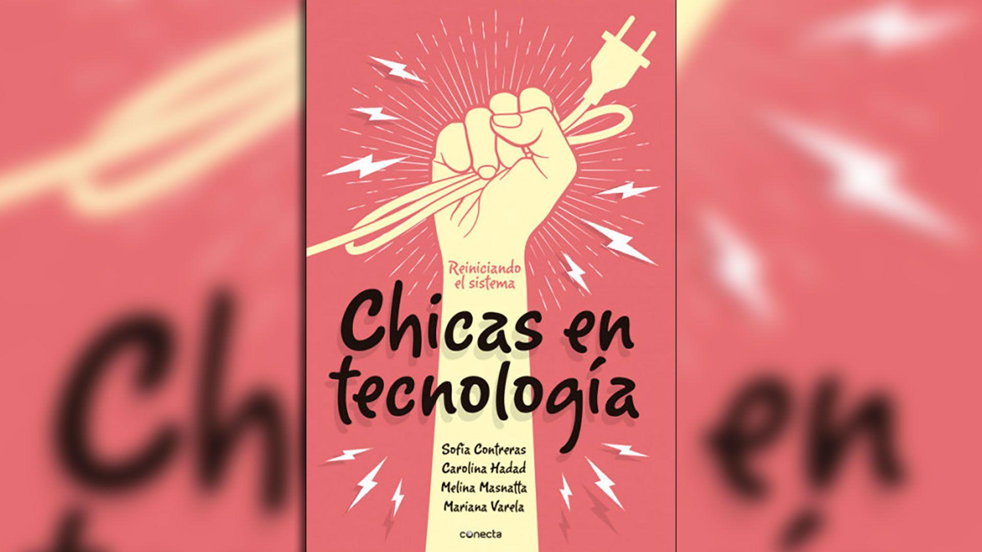 tapa libro chicas en tecnologia