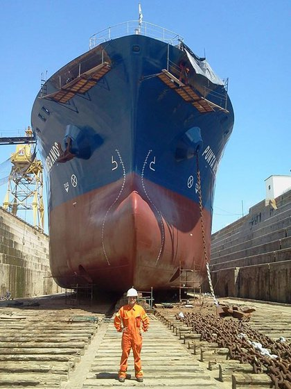 La moribunda industria naval nacional también acusará un fuerte  resquebrajamiento ante la mayor reducción en el tráfico de buques nacionales