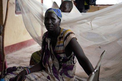 Una mujer desplazada en Sudán del Sur, el país menos próspero del mundo (REUTERS/Andreea Campeanu)