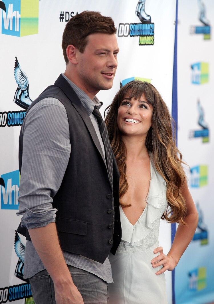 Cory Monteith y Lea Michele se conocieron en
