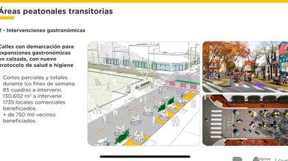 La Ciudad explicó que habrá cortes vehiculares y que serán más de 1.700 los locales comerciales beneficiados