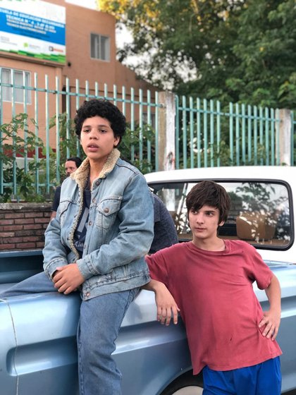 Balthazar Murillo y Matías Recalt