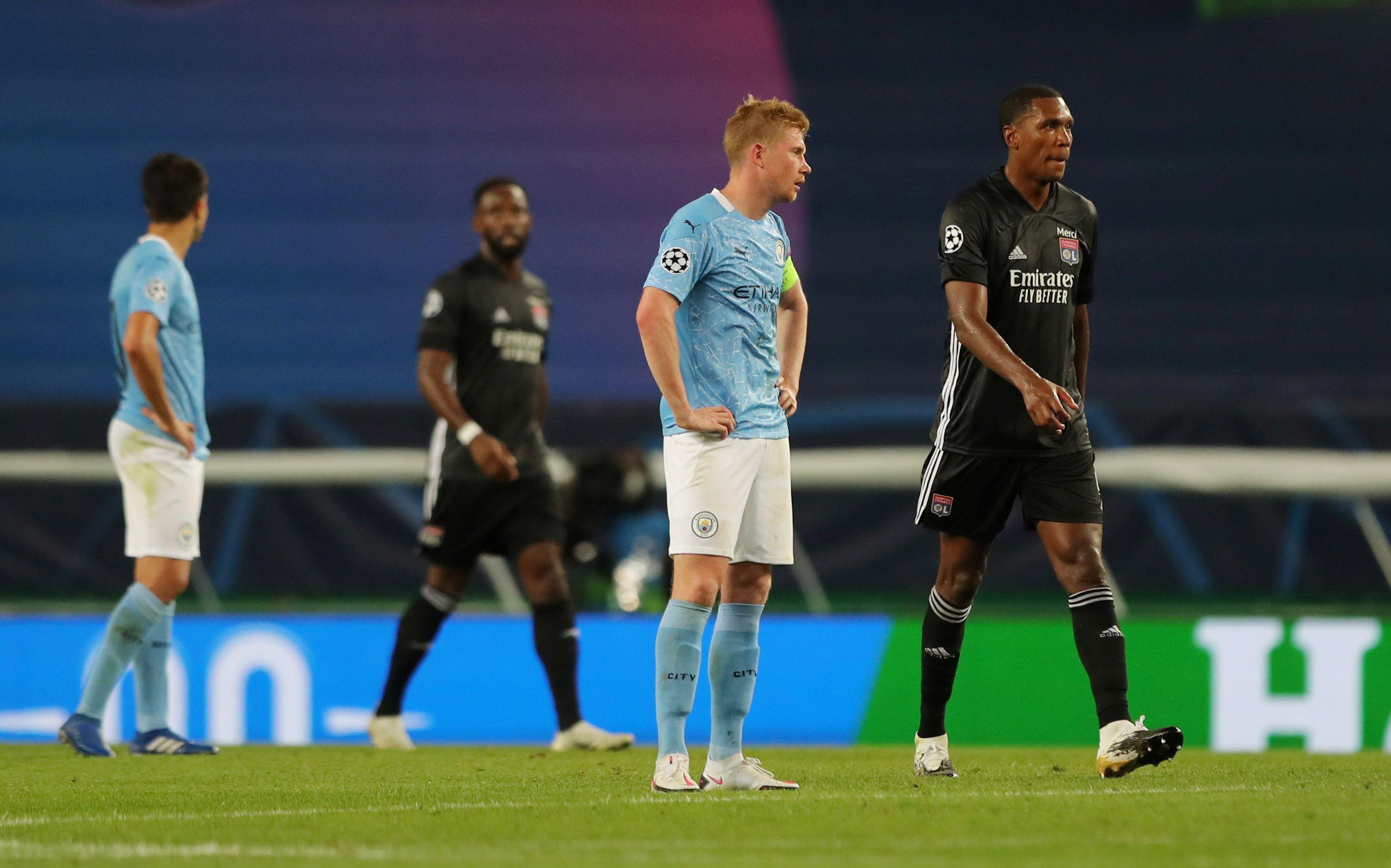 El Manchester City se despidió de la competencia en cuartos de final (Reuters)